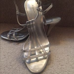 Shoes - Fioni silver heels shoes